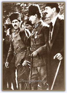 Atatürk'ün Dostları   Yakın Çalışma ve Silah Arkadaşları - Forum Gerçek Turkish Army, Historical Pictures, The Republic, History, Antalya, Historia, Historical Photos