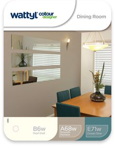 Wattyl Colour Designer Dining Room Australia