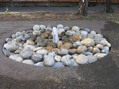 DIY Water Fountain Ideas & Tutorials! - In ground disappearing water fountain!