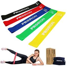 with Door Anchor Tribe 11PC Premium Resistance Bands Set Ha... Workout Bands