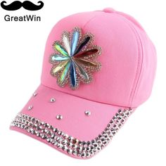 bling rhinestone floral lovely cap for children girl boy outdoor hip hop  baby snapback fashion snap back hats sports gorras 199be68aa4a