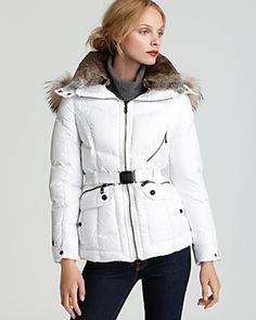 Andrew Marc - Fur-Trim Coat