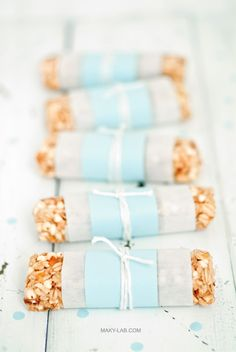... candied orange and white chocolate energy bars ...