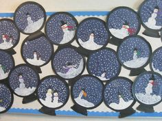 "I had to show off my bulletin boards! The first one is ice skates....""Gliding into a New Year"" Yep I sure did come up with that one myself!..."