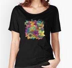 wondergarden | women's relaxed fit t-shirt
