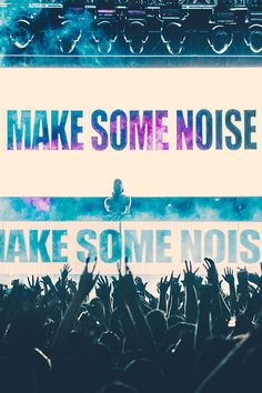 Make some noise!! #tiesto #edm