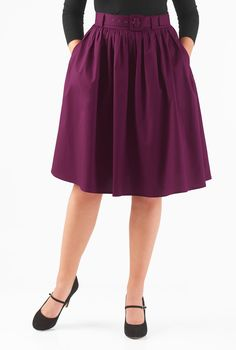A self belt beautifully cinches in the banded high waist of our feminine fifties inspired skirt styled with ruched pleats for a full flare. Tie Skirt, Dress Skirt, Modest Fashion, Fashion Outfits, Women's Fashion, Belts For Women, Clothes For Women, Custom Dresses, Flare Skirt