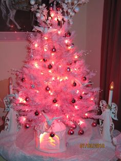 My Pink Christmas Tree !!!!