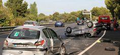 Unfall auf der Autobahn nach Andratx auf Mallorca