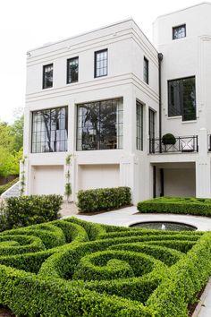 Home interior, interior design boards, modern art deco, facade design, exte Facade Design, Exterior Design, Architecture Design, House Design, Modern Exterior, Exterior Paint, Casa Art Deco, Art Deco Home, Casas Containers