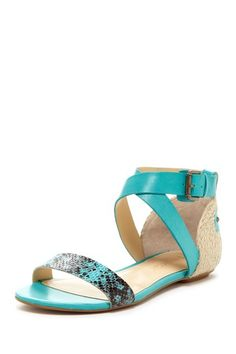 Love this color - Teal Sandals