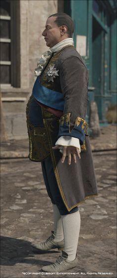ArtStation - Assassin's Creed Unity, Louis XVI Costumes, Mathieu Goulet