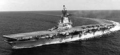 cv 11 uss independence essex class aircraft carrier us navy 1955 Essex Class, Uss Intrepid, Helicopter Plane, Us Navy Ships, Education Humor, Submarines, Aircraft Carrier, Battleship, World War I