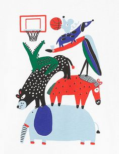 Arket Collection 2019 on Behance Space Illustration, Illustrations, Children's Book Illustration, Graphic Design Illustration, Drawing For Kids, Art For Kids, Emma Stone Style, Kids Prints, Nursery Art