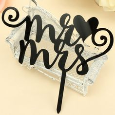 FREE SHIPPING+Wedding Mr&Mrs Decoration Tool Cake Fondant Tool Lace Woman Diy Kitchen Bakeware Fashion Cake Topper