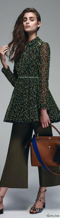 Fendi Resort 2016 Clothing, Shoes & Jewelry : Women http://amzn.to/2kCgwsM