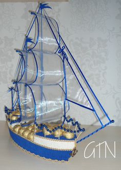Candy Flowers, Chocolate, Party, Nautical Party, Sailing Boat, Boats, Parties, Chocolates, Receptions