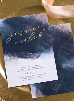 Unique and stunning wedding invitations from elli.com