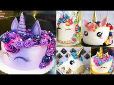 HOW TO MAKE A UNICORN CAKE - NERDY NUMMIES - YouTube
