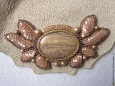 Создание кулона с использованием объемной вышивки - Ярмарка Мастеров - ручная работа, handmade