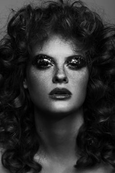 """Martina Vurmova (Elite) in """"Look Here"""" by Johanna Nyholm for REVS Magazine, September 2013 How To Curl Your Hair, Many Faces, Curls, Curly Hair Styles, Hair Beauty, Lily, Make Up, Magazine, Pretty"""