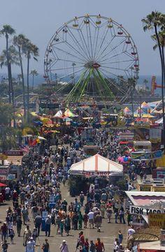 The Del Mar Fair San Diego, CA.