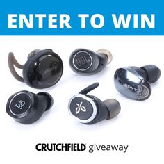 Win 1 of 20 Truly Wireless Headphones from @crutchfield #gggentry #sweeps http://swee.ps/vuuPbKmqS