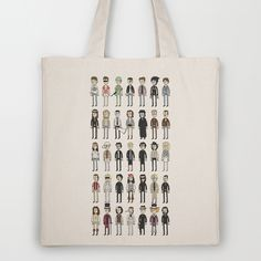 Depps Tote Bag [all johnny depp characters] *society6*