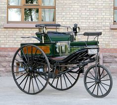 Evolution of Motor Car: The original Benz patent motor car of 1888 in the Dr. Carl Benz Automotive Museum in Ladenburg, Germany. (Photo © Daimler AG)