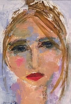 Fine Art, Figure Paintings in Oil and Mixed Media Abstract Portrait Painting, Abstract Face Art, Figure Painting, Portrait Art, Painting & Drawing, Girl Face Drawing, Charcoal Art, Pastel Art, Sculpture Art