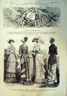 La Mode Française 2 juillet 1881
