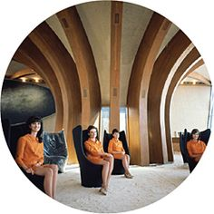 National Archives of Australia. 'A modernist vision of Australia - The interior of the Australian Pavilion at Expo 67 in Montreal' 1967 Australian Architecture, Modern Architecture, Marion Hall, Expo 67 Montreal, Bungalow, Fashion Photography Art, Futuristic Interior, Expo 2015, World's Fair