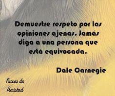 Frases de cómo ganar amigos e influir sobre las personas de Dale Carnegie