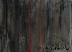 Lignes de couleurs sur fond noir Painting, Art, Black Backgrounds, Stone, Colors, Art Background, Painting Art, Kunst, Paintings