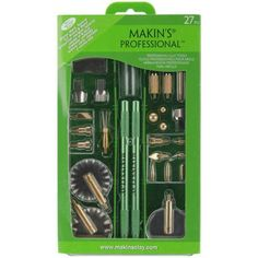 Makin's Professional 27 Piece Clay Tool Set, Green