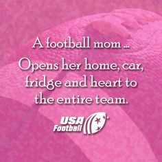 A football mom . And a coaches' wife.gotta love their intuition. Notre Dame Football, Football Usa, Football Cheer, Fall Football, Football Quotes, Youth Football, Football And Basketball, Football Season, College Football