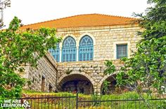 What do you think of this traditional Lebanese house? شو رأيكن بهالبيت اللبناني التقليدي؟ Photo by Rabie M