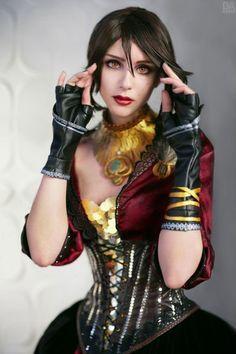 Cosplay sexy de Morrigan Dragon Age