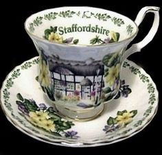 Royal Albert - English Country Cottages series-- Staffordshire
