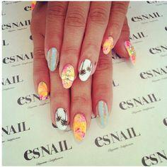 Beach Nail Design #esnail