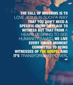 A Missions Heart.