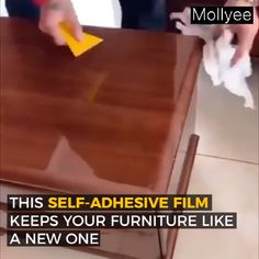 Transparent Furniture Protective Film Oil Painting how to get oil paint out of clothes Diy Home Crafts, Diy Home Decor, Painted Furniture, Diy Furniture, Glass Furniture, Film Transparent, Transparent Clothes, Old Quotes, Diy Décoration