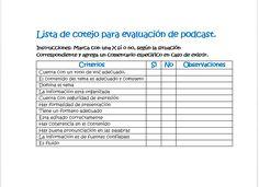 lista de cotejo exposicion oral - Buscar con Google