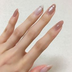 New nails almond gel art designs 18 ideas Love Nails, Pretty Nails, Nail Parlour, Office Nails, Beige Nails, Nail Art Pictures, Nail Art Kit, Soak Off Gel Nails, Gel Nail Designs