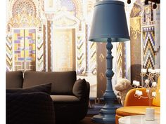 moooi Paper Floor Lamp by Studio Job - Chaplins