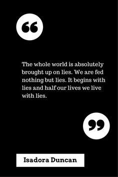 Yes, we are. Lies, damn lies, and damn, damn lies.