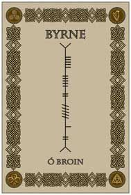 byrne Ogham - ancient Irish written language