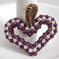 Beading Valentine's Project: My Sweet Heart Pendant