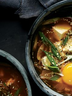 """""""This fiery Korean stew is my weekend detox,"""" says senior associate food editor Alison Roman. """"It's spicy, clean, and capable of reversing any damage the previous night may have caused."""""""