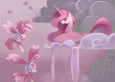 Molestia love all MLP Princesa Celestia, Celestia And Luna, Raimbow Dash, Nightmare Moon, Mlp Fan Art, Mini Drawings, Mlp My Little Pony, Character Design Animation, Fluttershy